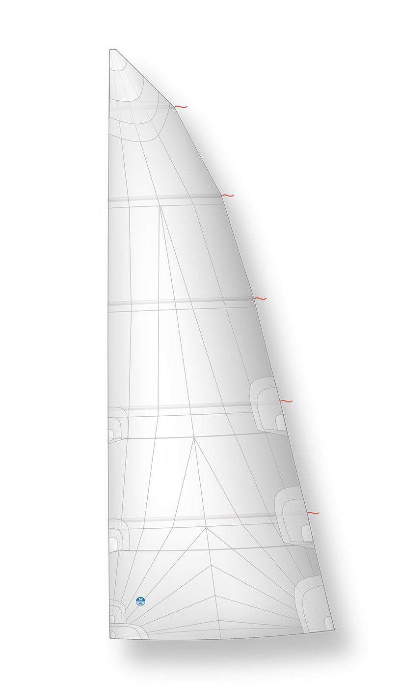 High Roach Mainsail