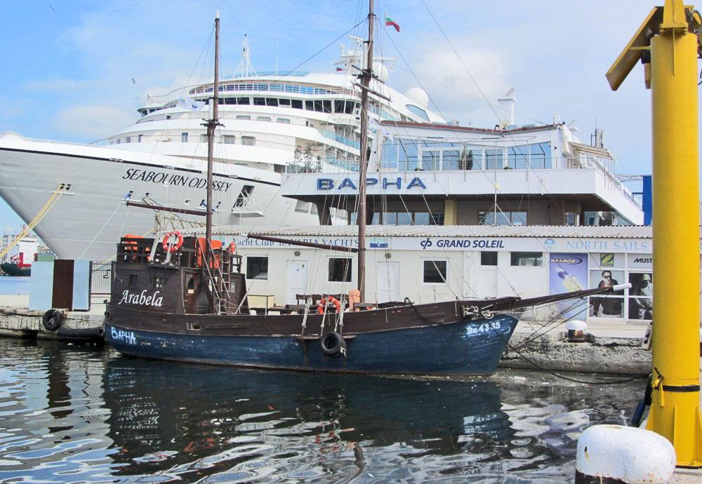 """Ветроходна яхта """"Arabela"""""""