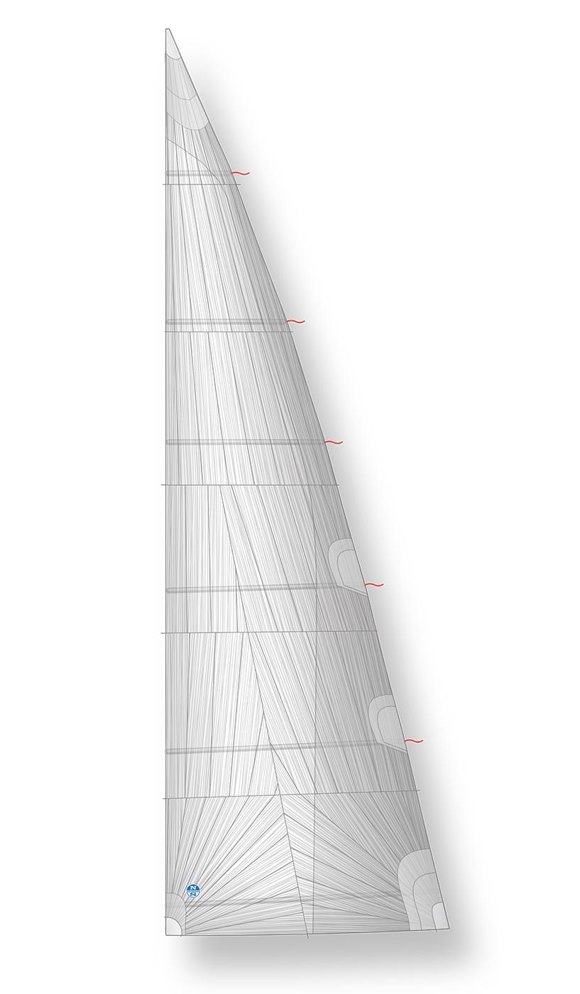 Boom Furling Mainsail