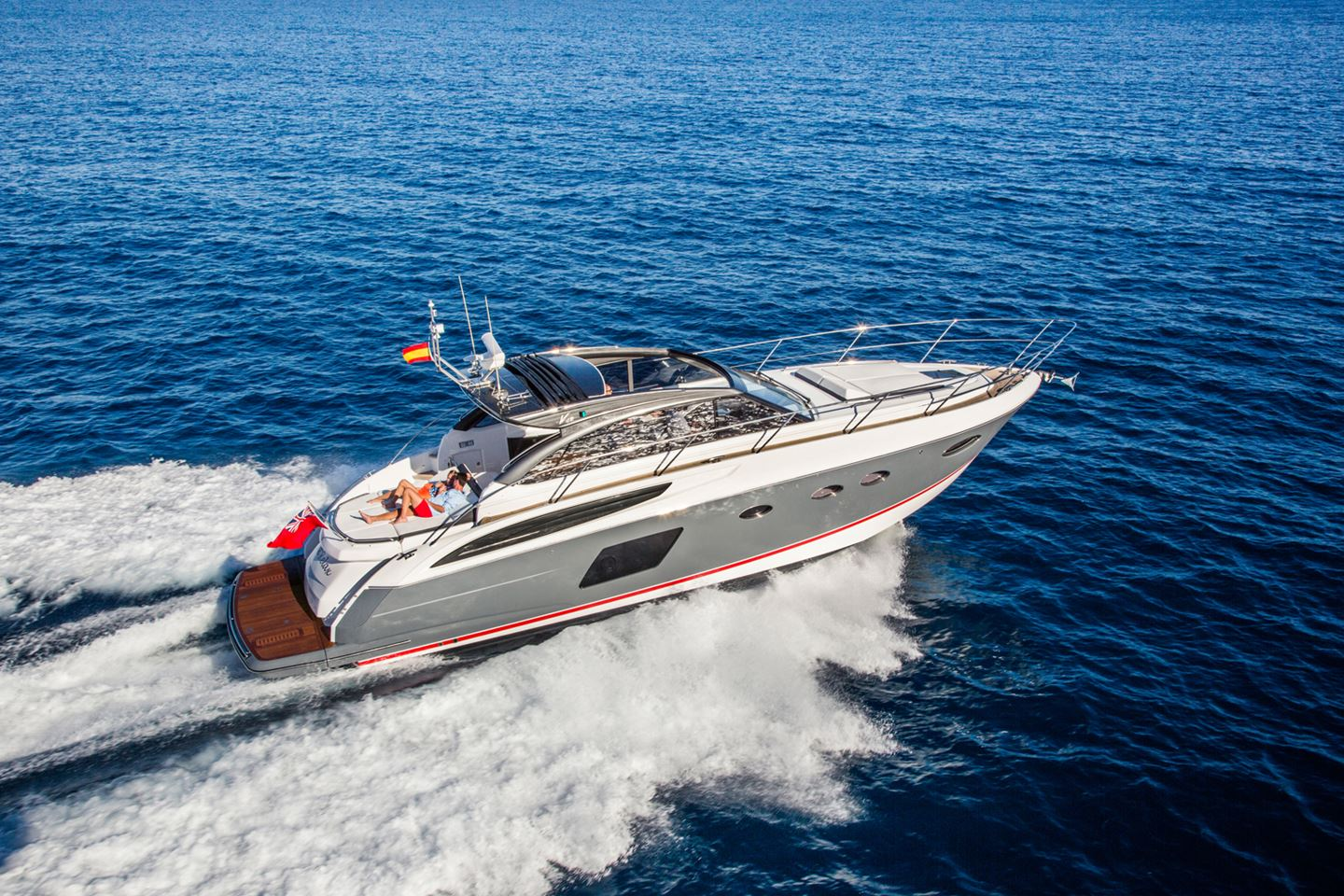 Princess 48 V Open