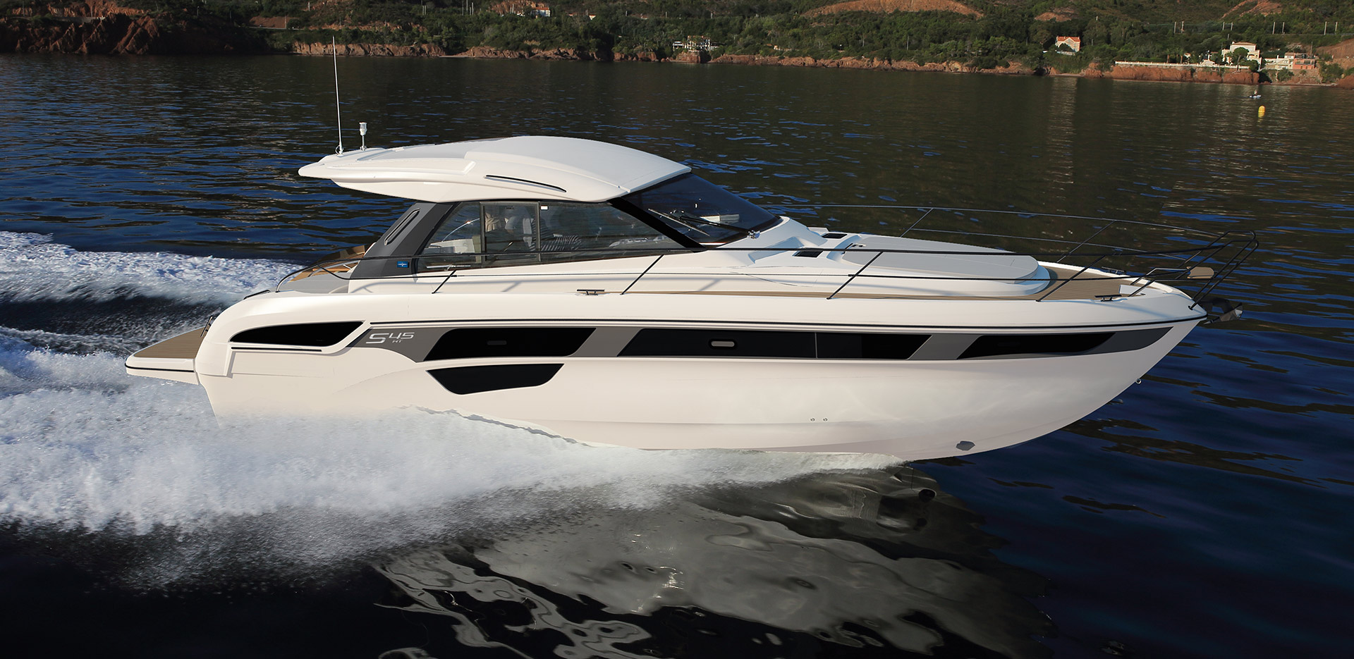 Official motor yachts dealer for Bulgaria and Romania