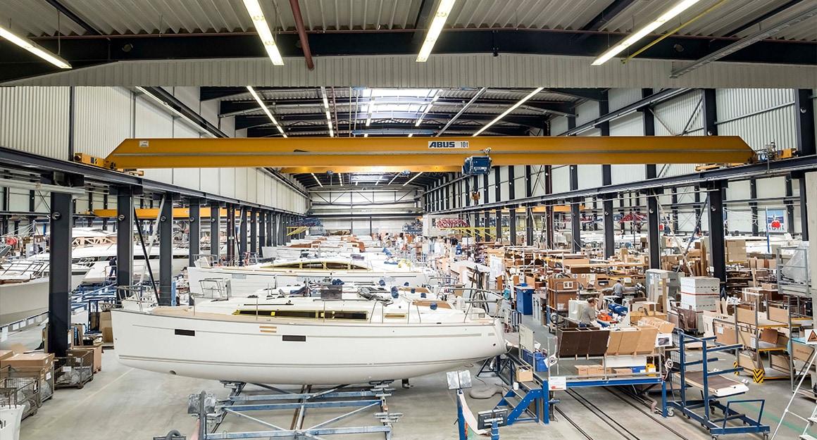 Bavaria Yachts Factory